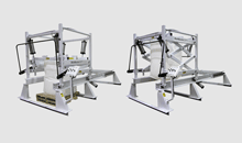 Traveling Scissors Lift Bulk Bag Unloader Series 422
